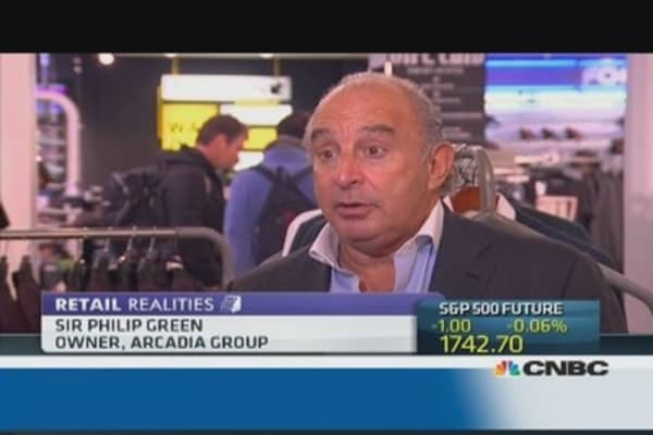 5th Ave store 'key' to US expansion: Philip Green