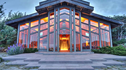 The Nirvana House, in Tiburon, Calif.