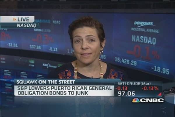 Puerto Rico credit in dire situation: CEO