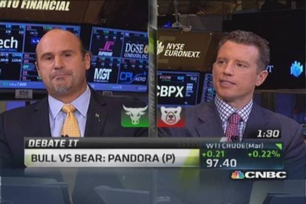 More upside for Pandora: Trader