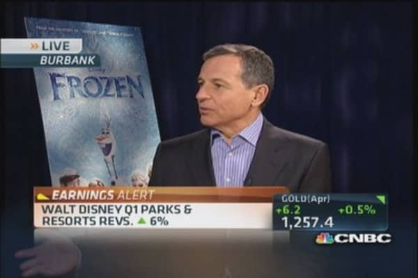 Disney CEO: Double-digit growth for every operating unit