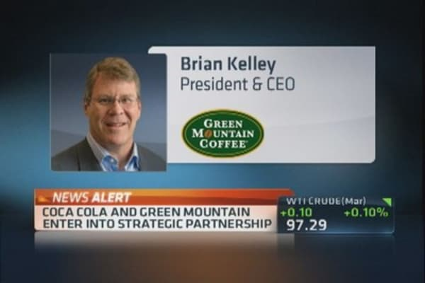 Coca-Cola to buy 10% minority stake in Green Mountain Coffee