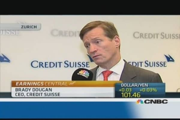 Encouraged but work to do on litigation: Credit Suisse CEO