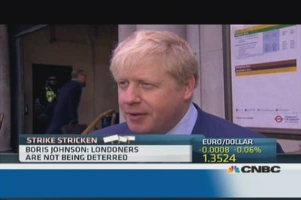 London is 'open for business': Boris Johnson
