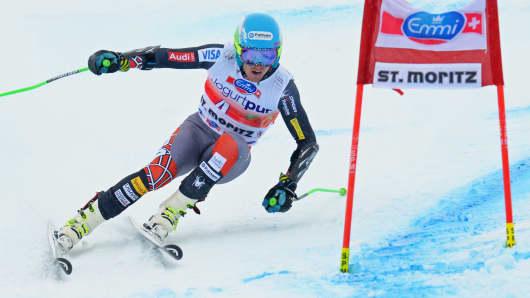Ted Ligety of the U.S., pictured competing in the Audi FIS Alpine Ski World Cup giant slalom early this month in St. Moritz, Switzerland.