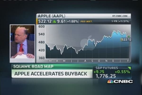 Apple accelerates buyback
