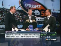 NASCAR & CNBC's 'The Profit' team up