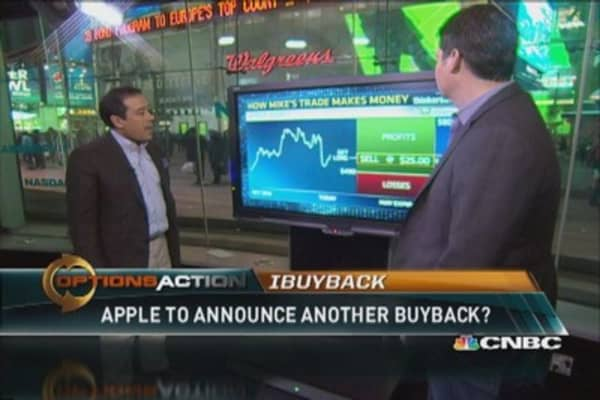 Apple to announce another huge buyback?