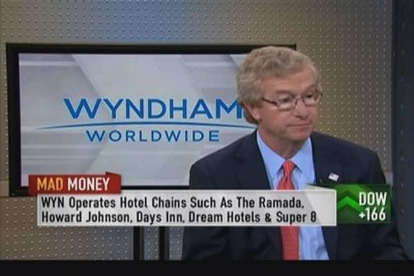 Wyndham CEO: Not seeing a slowdown