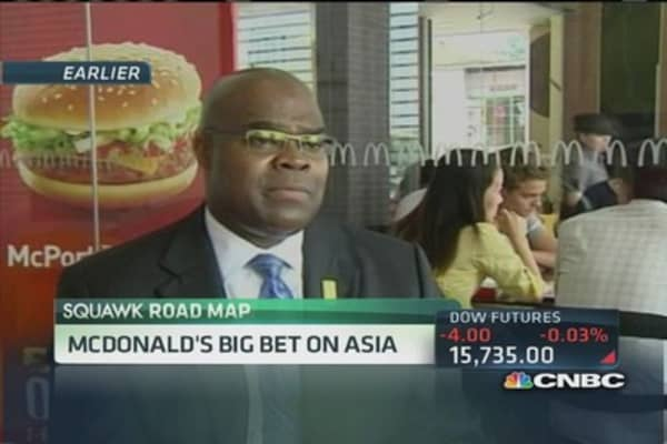 Cramer: Concerned about McDonald's