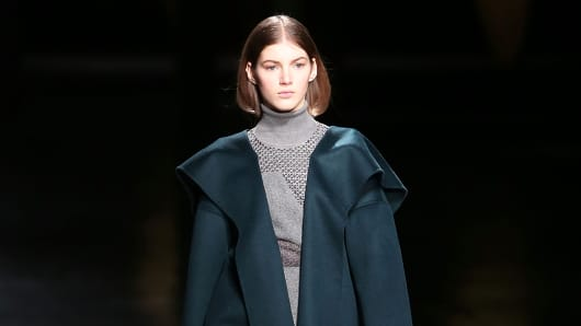One of the fall looks from Prabal Gurung during its show at New York Fashion Week.