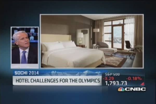 Hotel construction challenges at Sochi