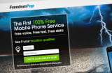 FreedomPop web page