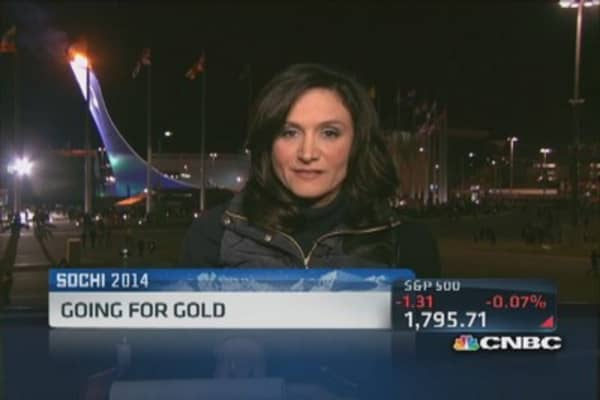 Going for gold in Sochi