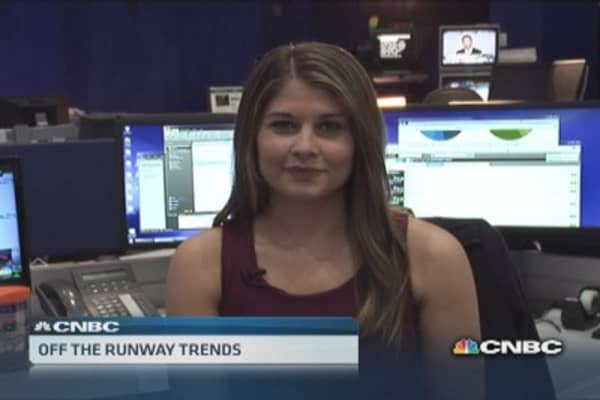 Off the runway trends