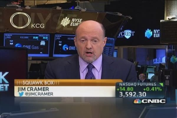 Cramer's stocks to watch: CAG, DF & AAPL