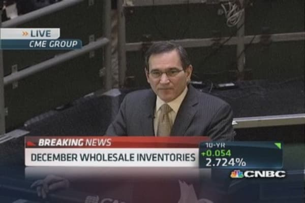 December wholesale inventories rise 0.3%
