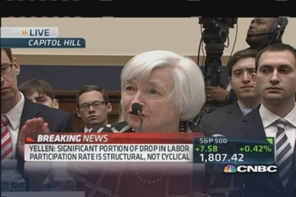 Yellen: Interest rates low for fundamental reason