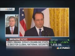 Pres. Obama: Will pressure other countries on Syria