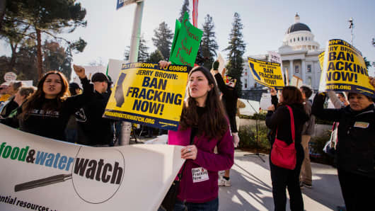 Fracking blamed for drought in CA