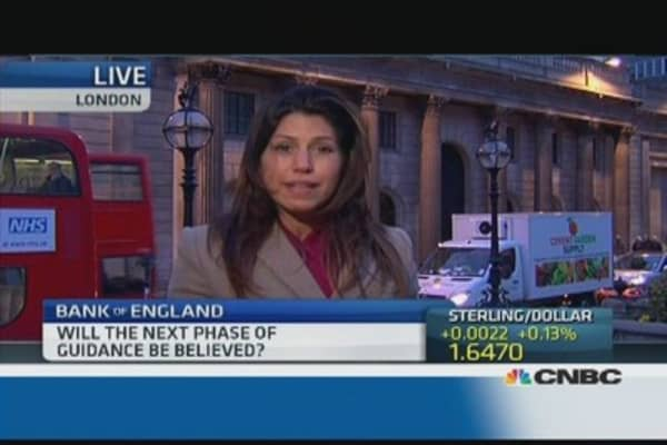 Bank of England: Will it change its forward guidance?