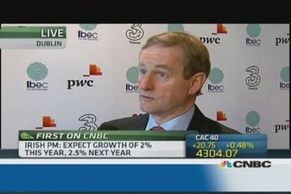 Irish PM defends country's corporate tax rate