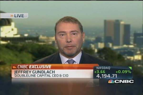 Gundlach: QE will not end in 2014