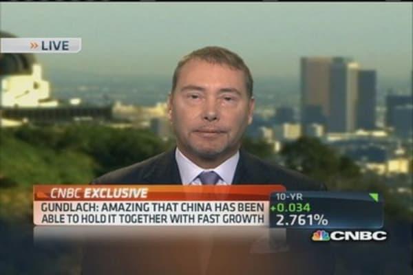 Gundlach: Amazed at China's massive growth