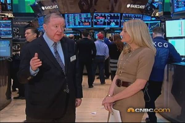 Cashin says: We're a little bit overbought