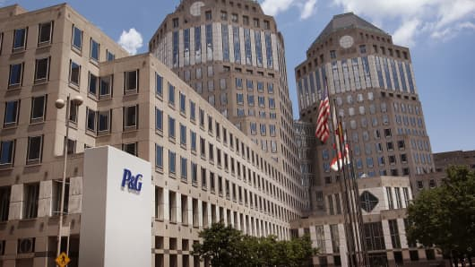 Procter & Gamble headquarters in Cincinnati.