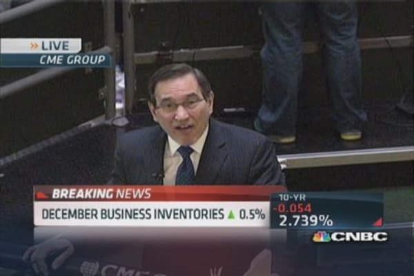 December business inventories rise 0.5%