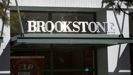 A Brookstone store in Santa Monica, California.