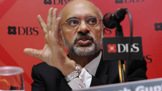 Piyush Gupta, chief executive officer of DBS Group Holdings