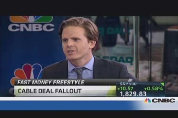 Top Trades: TWC-CMCSA fallout
