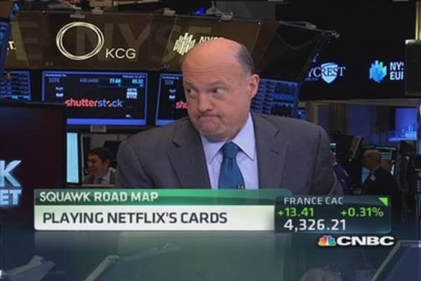 Cramer: 'House of Cards' could add this much to NFLX shares