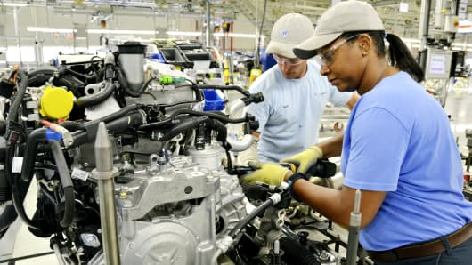 Volkswagen workers reject UAW in blow to union