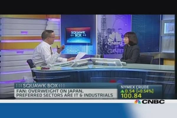 Credit Suisse: Why we're still overweight Japan
