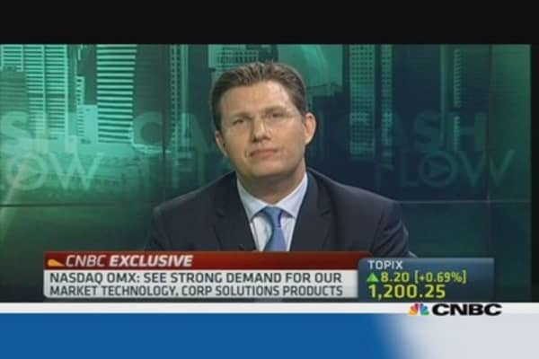 Nasdaq OMX: Investing heavily in technology