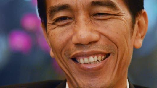 Jakarta governor Joko Widodo.