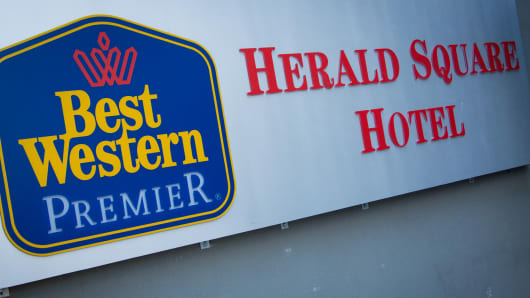 Best Western Premier hotel in Herald Square, New York.