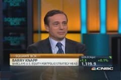 Barry Knapp on the 'One Percent'