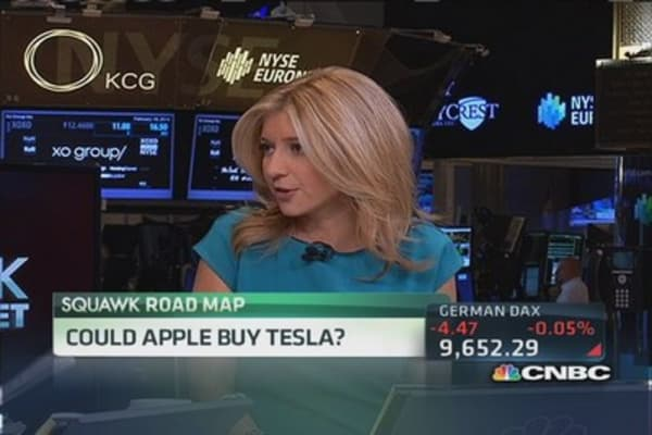 Report: Tesla held secret meeting with Apple