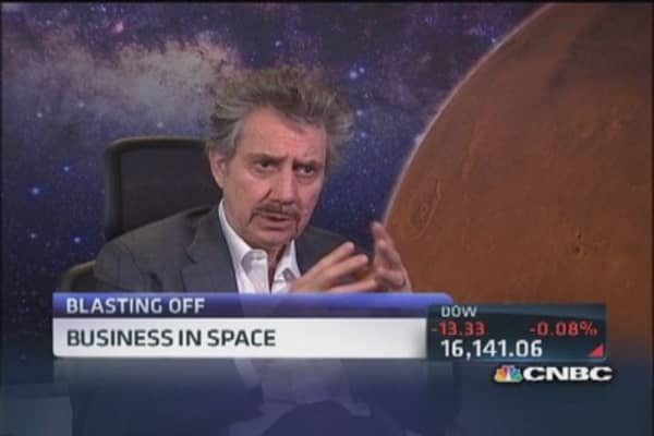 Billions spent on private space ventures