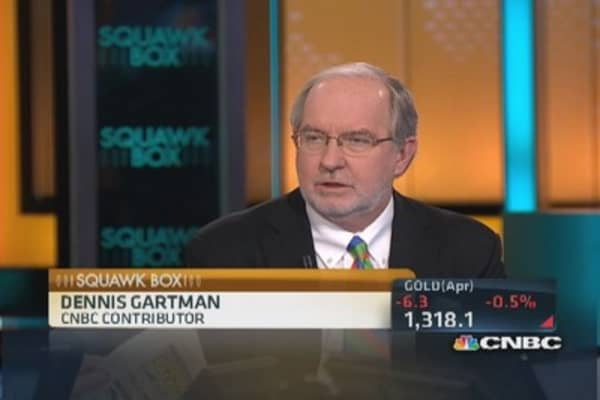 It's still a bull market: Gartman