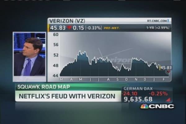 Netflix's feud with Verizon