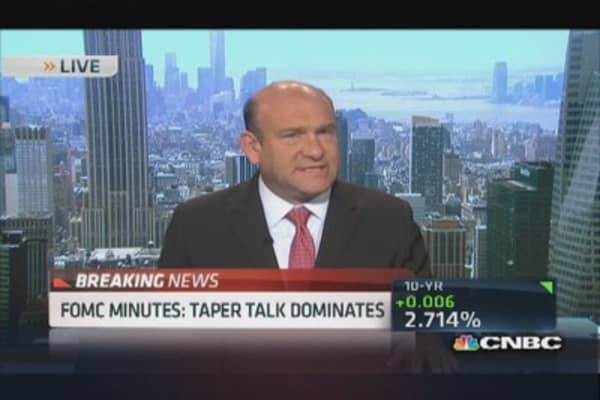Fed minutes: Taper talk dominates