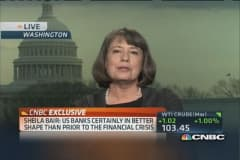 Sheila Bair: I applaud the Fed