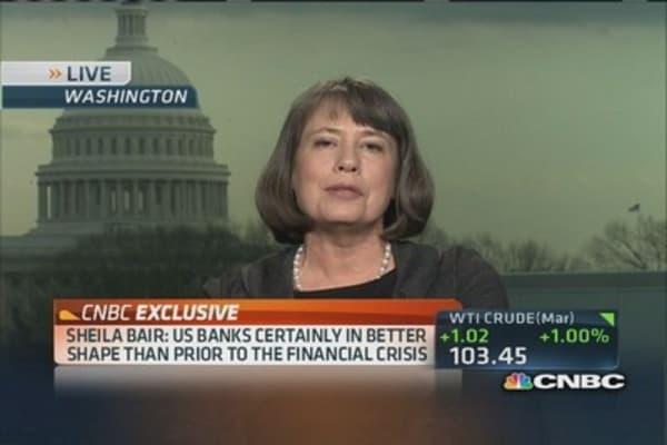 Sheila Bair: I applaud the Fed