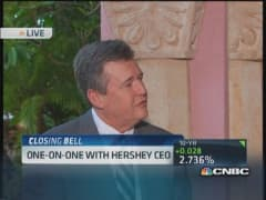Hersey CEO: Weather a reality, not major issue