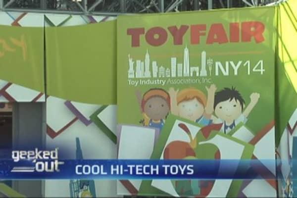 High-tech toys